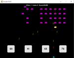 【AI + pygame】pygameで作るインベーダー風ゲーム 第3回 改造編その3(残機制とステージクリア制の導入・UFO)